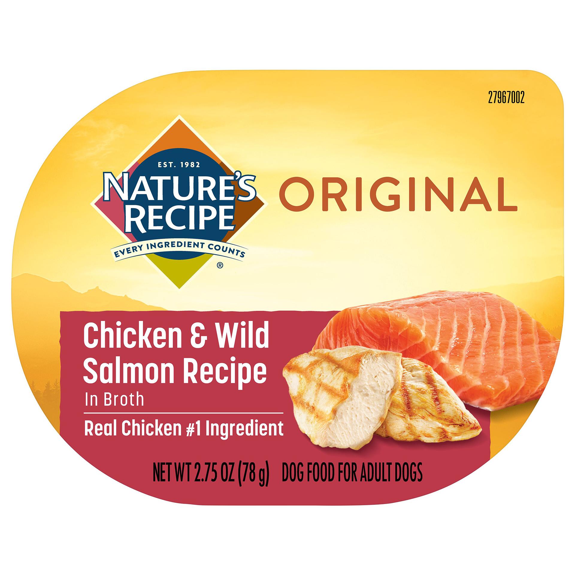 Chicken & Wild Salmon Recipe In Broth