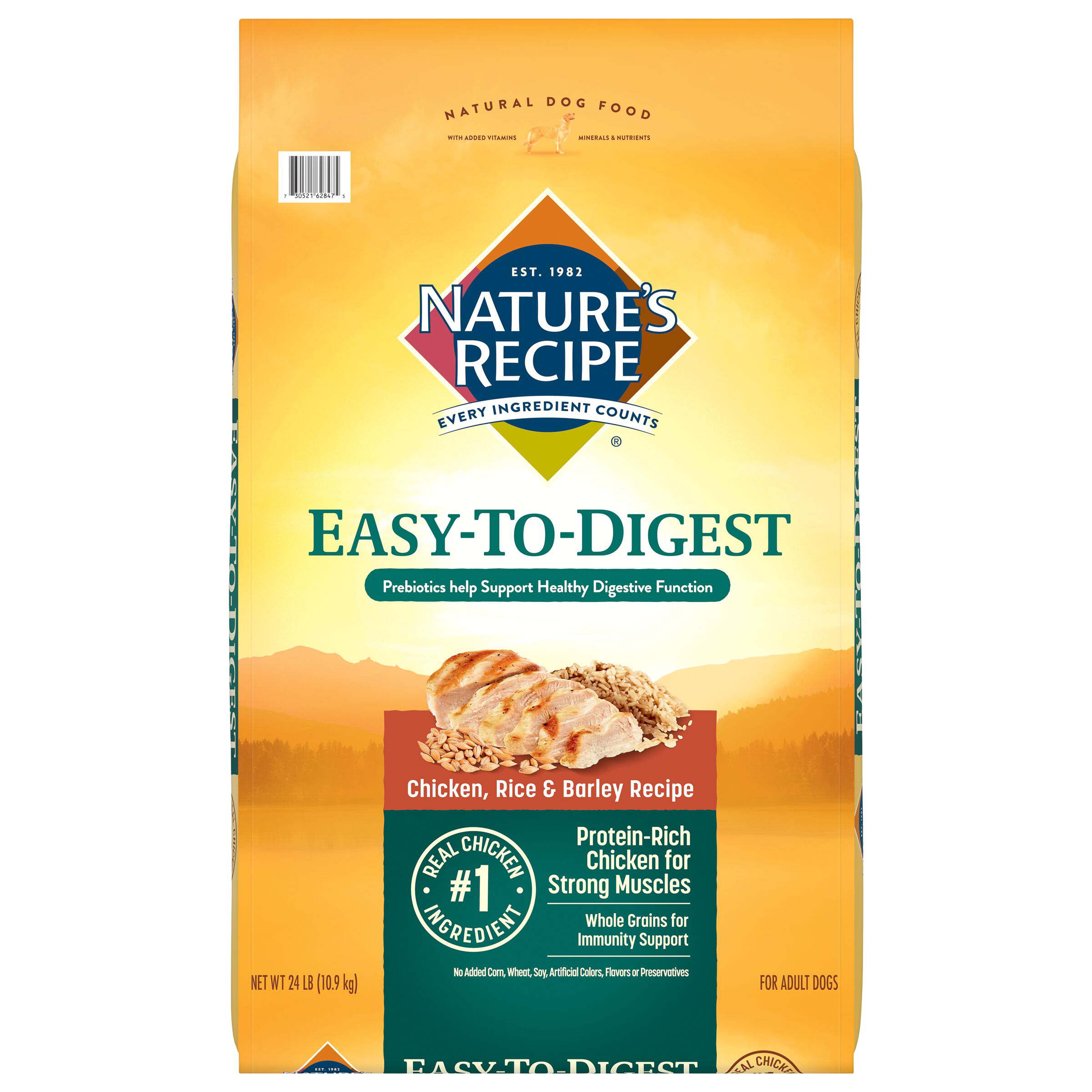 Easy to Digest Chicken Meal, Rice, & Barley Recipe