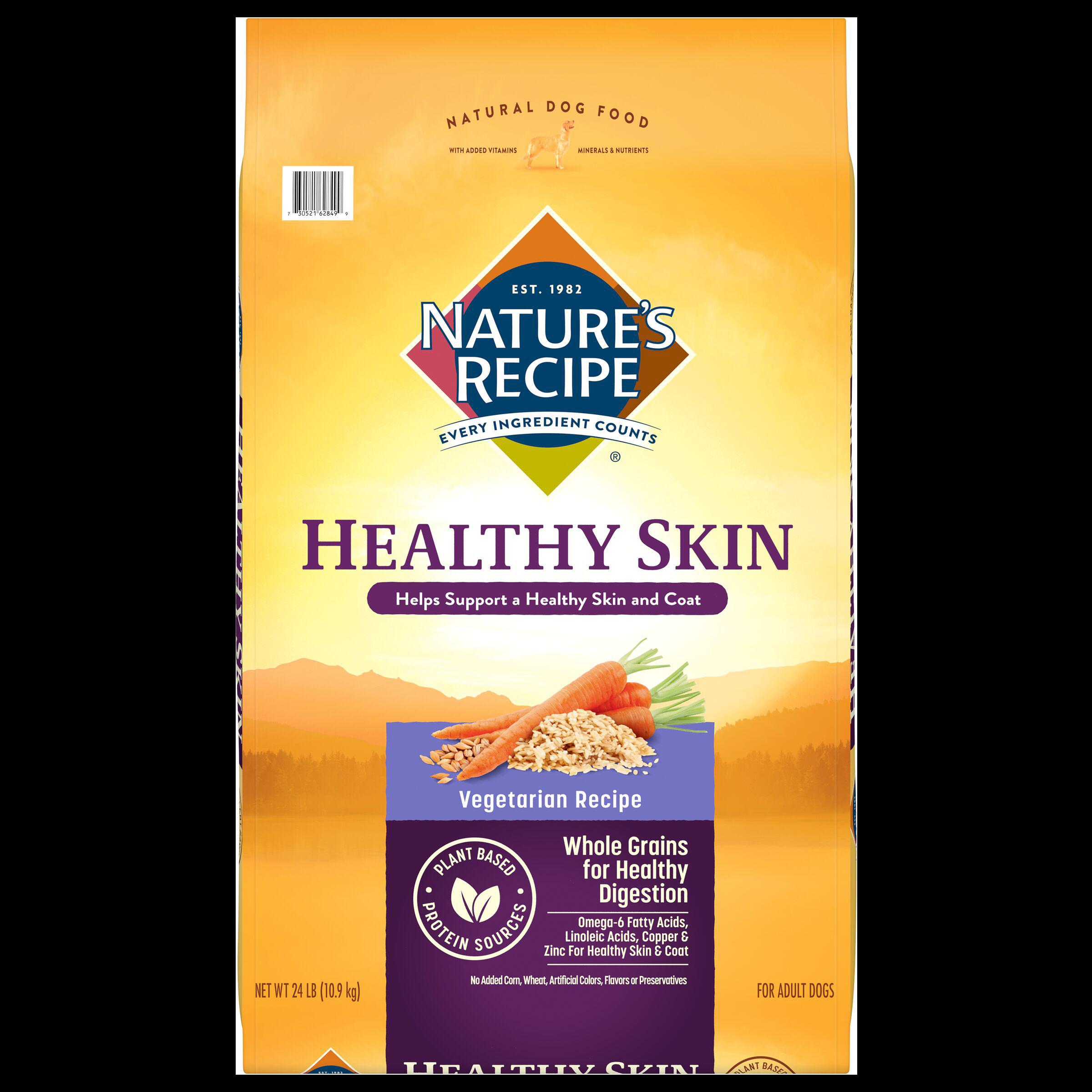 Healthy Skin Vegetarian Dog Food Recipe