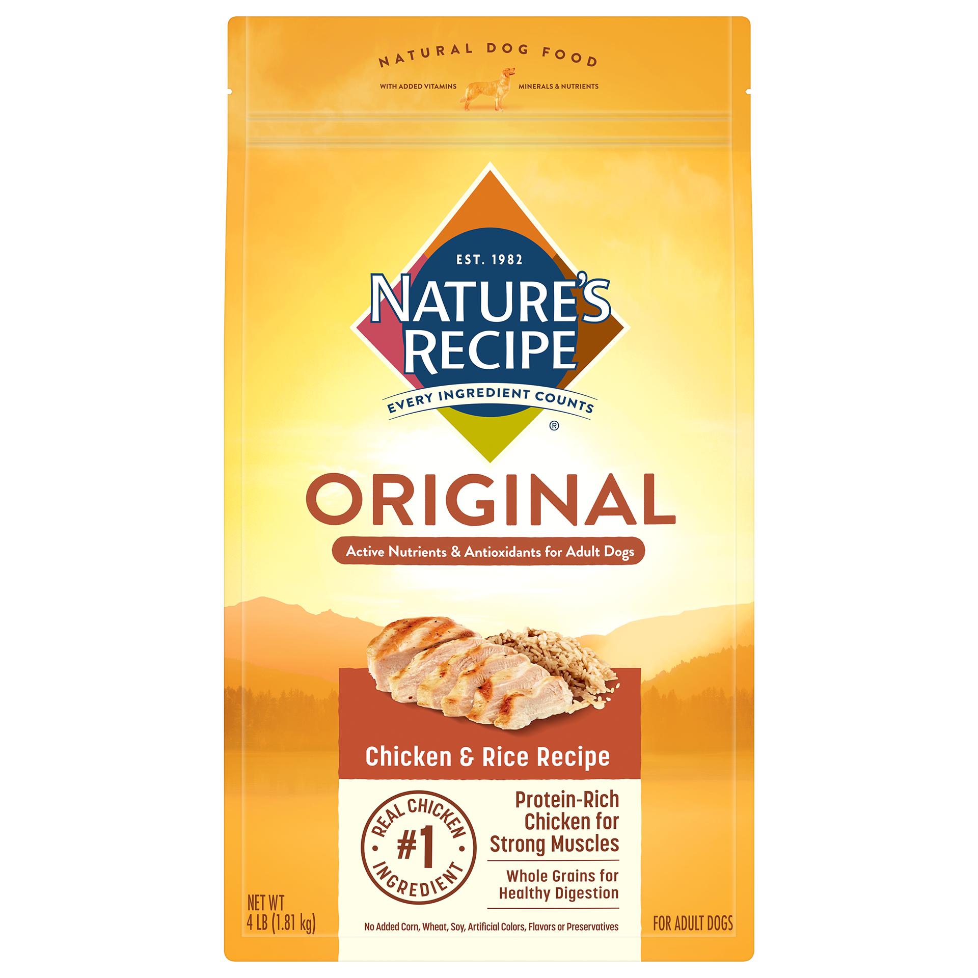 Nature's Recipe Original Chicken and Rice Dry Dog Food