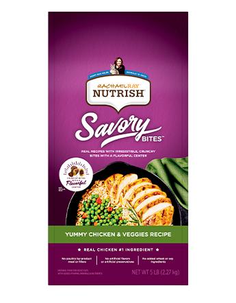 Rachael Ray™ Nutrish® Savory Bites™ Yummy Chicken & Veggies Recipe