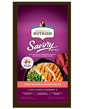 Rachael Ray™ Nutrish® Savory Bites™ Tasty Salmon & Veggies Recipe