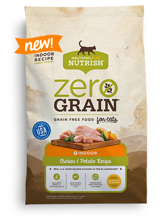 Zero Grain™ Dry Cat Food Chicken and Potato Recipe  bag