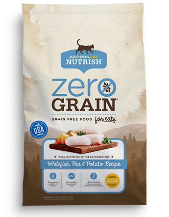 Zero Grain™ Whitefish, Pea and Potato Dry Cat Food Recipe  bag