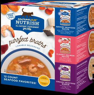 Purrfect Broth Seafood Favorites Variety Pack bag