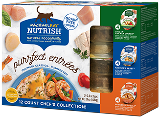 Purrfect Entrees Chef's Collection Variety Pack bag