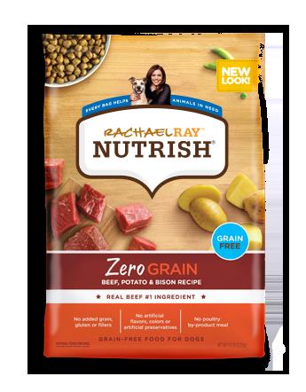 Zero Grain™ Beef, Potato and Bison Dry Dog Food Recipe
