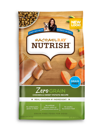 Zero Grain™ Chicken and Sweet Potato Dry Dog Food Recipe bag