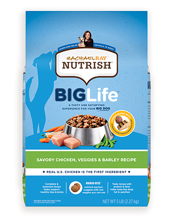 Rachael Ray™ Nutrish® Big Life™ Savory Chicken, Veggies & Barley Recipe
