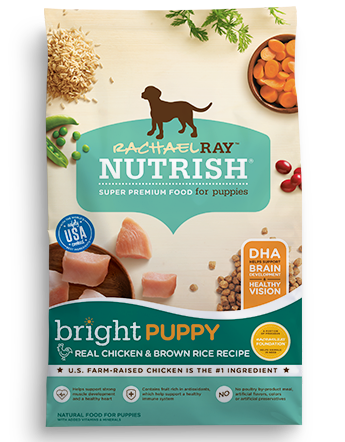 Bright Puppy Real Chicken & Brown Rice Recipe bag