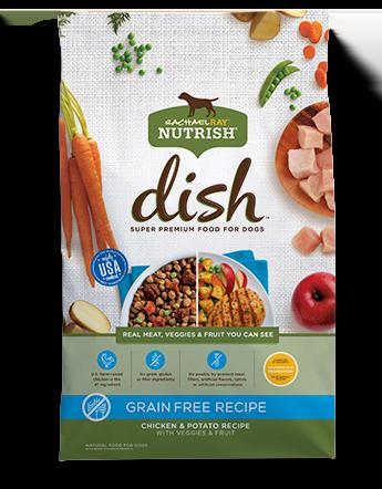 Nutrish DISH® Grain Free Chicken & Potato Recipe With Veggies & Fruit