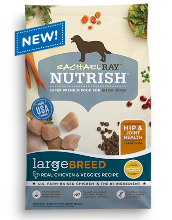Large Breed Chicken and Veggies Recipe Dry Dog Food