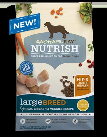 Large Breed Real Chicken & Veggies Recipe bag