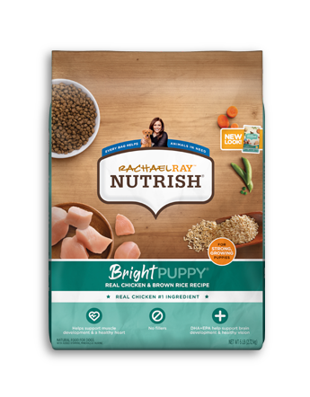 Bright Puppy®Real Chicken & Brown Rice Recipe bag