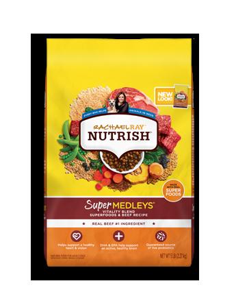 SuperMedleys® Vitality Blend Superfoods and Beef Dry Dog Food bag
