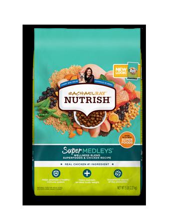 SuperMedleys™ Wellness Blend Superfoods & Chicken Recipe bag
