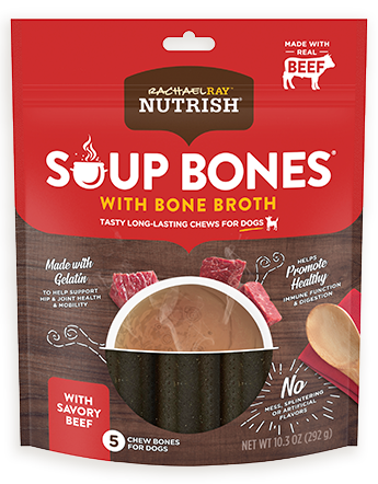 Rachael Ray™ Nutrish® Soup Bones™With Bone Broth Savory Beef Recipe