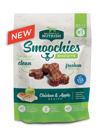 Smoochies™ Dental Biscuits Chicken and Apple  bag