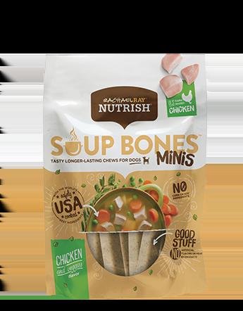 Soup Bones™ Minis Real Chicken & Veggies Flavor