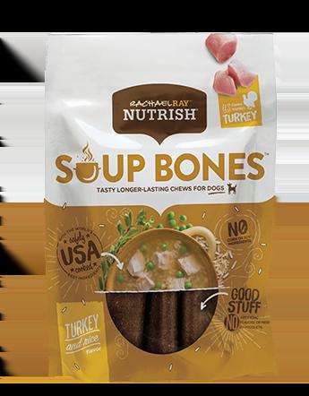 Soup Bones™ Real Turkey & Rice Flavor