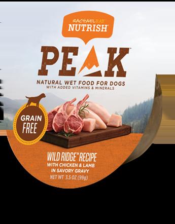 Wild Ridge Recipe® Dog Food With Chicken & Lamb in Savory Gravy bag