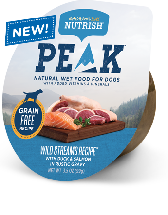 Wild Streams Recipe™ With Duck & Salmon in Rustic Gravy bag