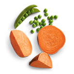 Peas & Sweet Potatoes