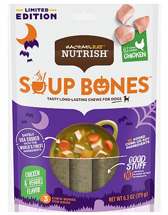 Soup Bones™ Real Chicken & Veggies Flavor bag
