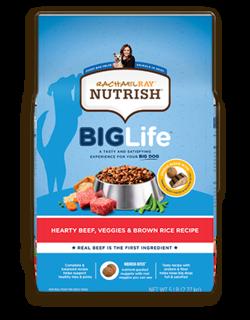 Rachael Ray™ Nutrish® Big Life™ Hearty Beef, Veggies & Brown Rice Recipe