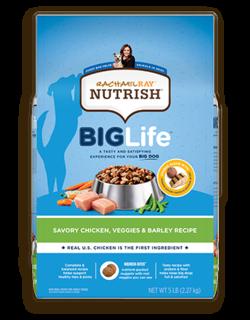 Rachael Ray™ Nutrish® Big Life™ Savory Chicken, Veggies & Barley Recipe