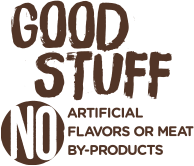 No artificial flavors or meat by-products