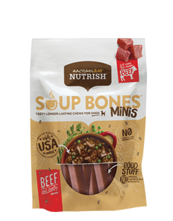 Soup Bones™ Minis Beef & Barley Flavor Dog Treats