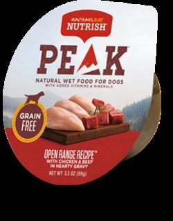 Open Range Recipe™ With Chicken & Beef in Hearty Gravy